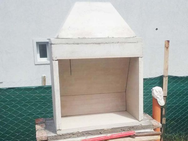 Pulmón para Hogar a Leña preparado para su instalación